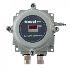 CO GAS DETECTOR WITH FLAME PROOF